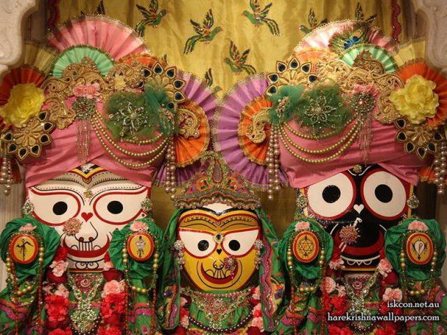 Jagannath Baladeva Subhadra Wallpaper (001)
