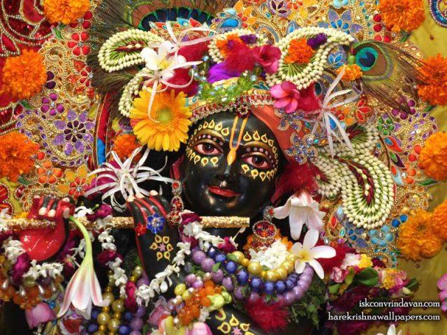 Sri Shyamsundar Close up Wallpaper (007)
