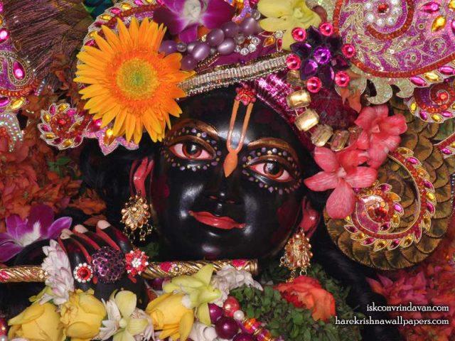 Sri Shyamsundar Close up Wallpaper (008)