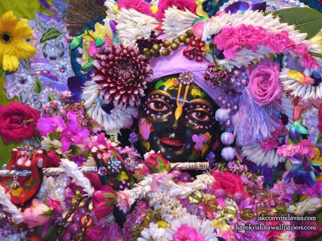 Sri Shyamsundar Close up Wallpaper (020)