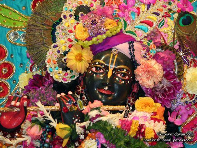 Sri Shyamsundar Close up Wallpaper (021)