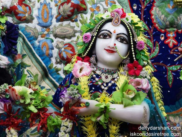 Srimati Radharani Close up Wallpaper (003)