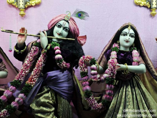 Sri Sri Radha Gopinath Close up Wallpaper (003)