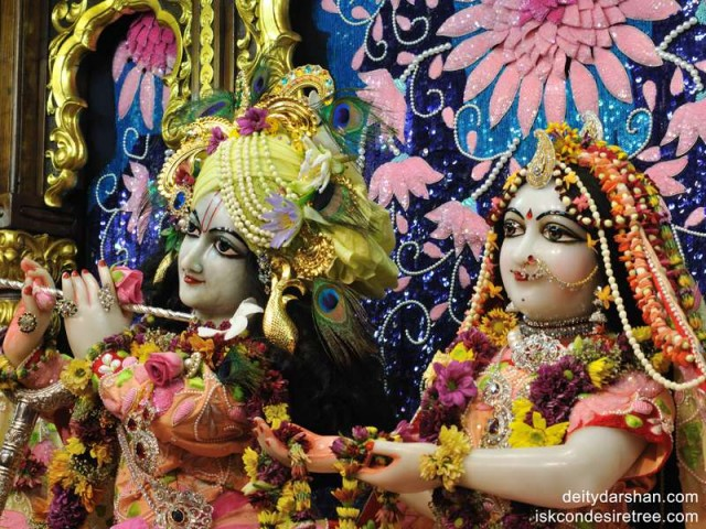 Sri Sri Radha Gopinath Close up Wallpaper (012)