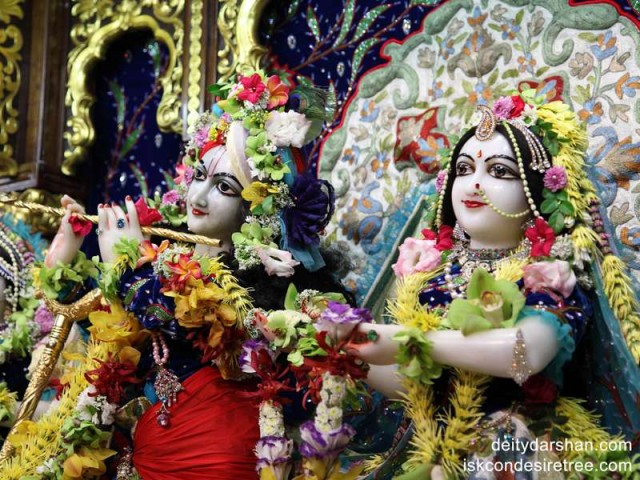 Sri Sri Radha Gopinath Close up Wallpaper (014)
