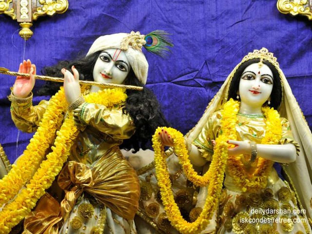 Sri Sri Radha Gopinath Close up Wallpaper (019)