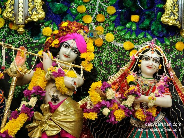 Sri Sri Radha Gopinath Close up Wallpaper (020)
