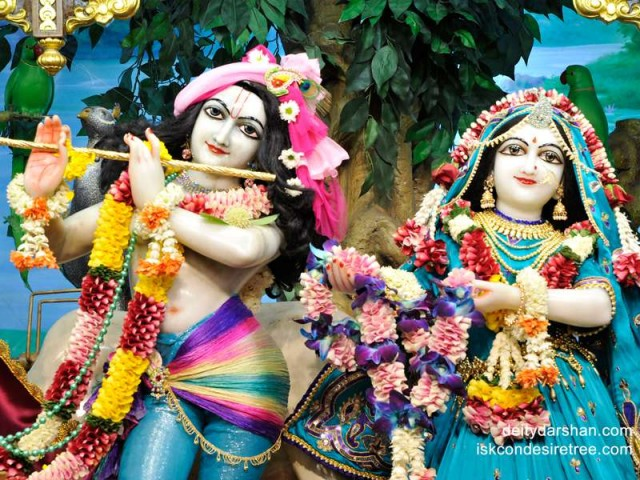 Sri Sri Radha Gopinath Close up Wallpaper (021)