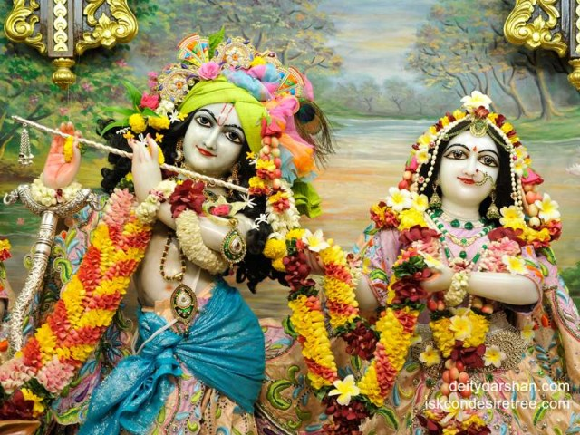 Sri Sri Radha Gopinath Close up Wallpaper (023)