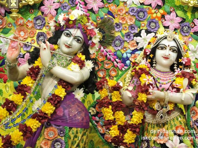 Sri Sri Radha Gopinath Close up Wallpaper (028)