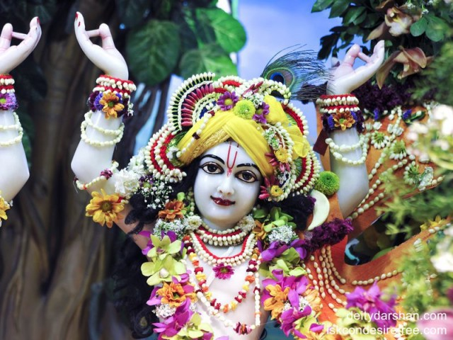 Sri Gaurachandra Close up Wallpaper (001)