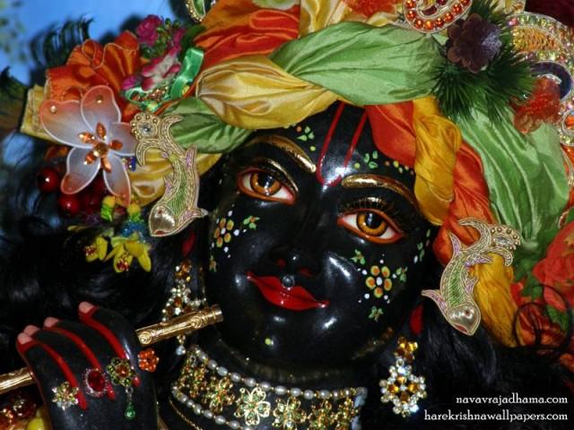 Sri Shyamsundar Close up Wallpaper (005)