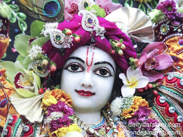 Sri Gaurachandra Close up Wallpaper (008)