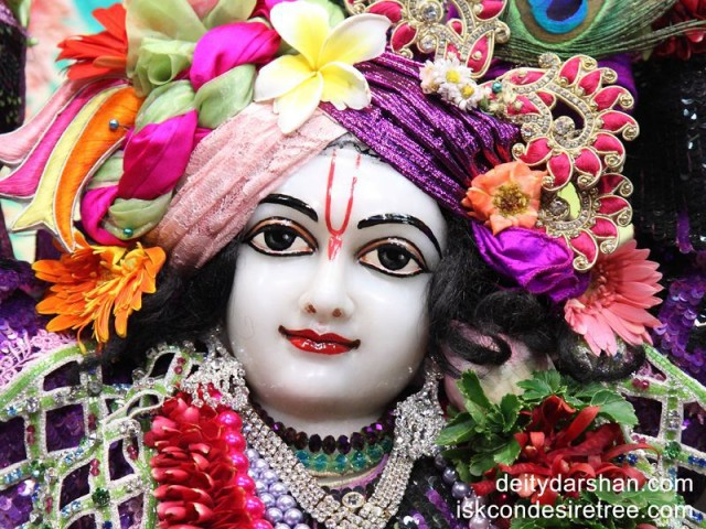 Sri Gaurachandra Close up Wallpaper (012)