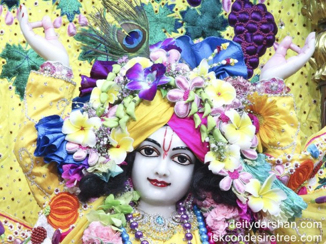 Sri Gaurachandra Close up Wallpaper (019)