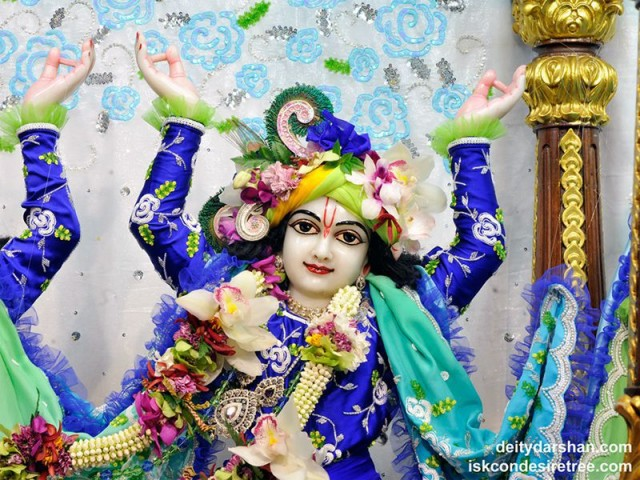 Sri Gaurachandra Close up Wallpaper (031)