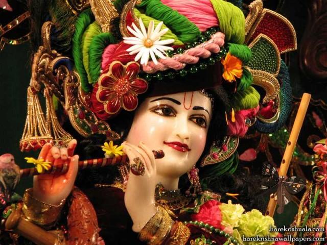 Sri Dwarkadhish Close up Wallpaper (001)