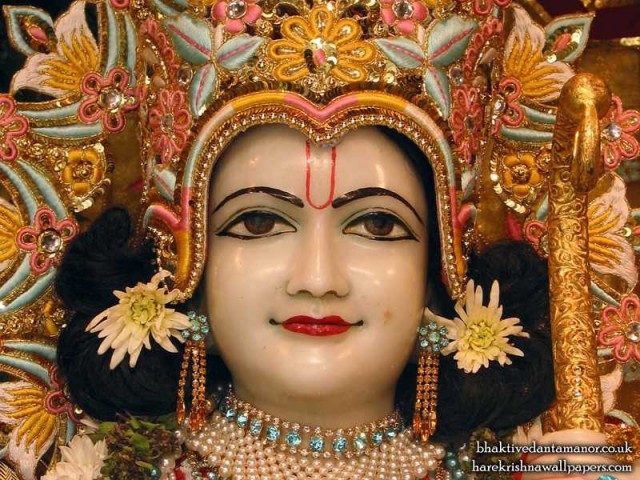 Sri Rama Close up Wallpaper (001)