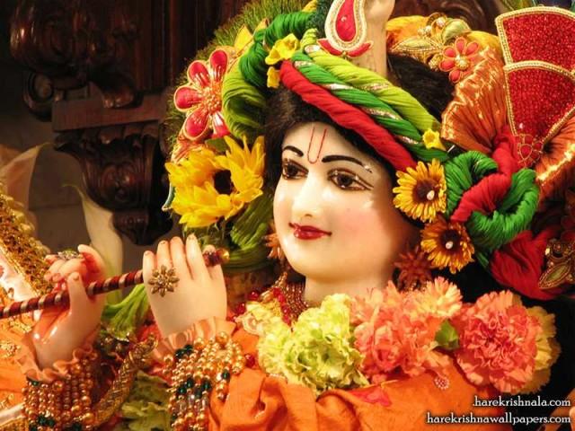 Sri Dwarkadhish Close up Wallpaper (002)