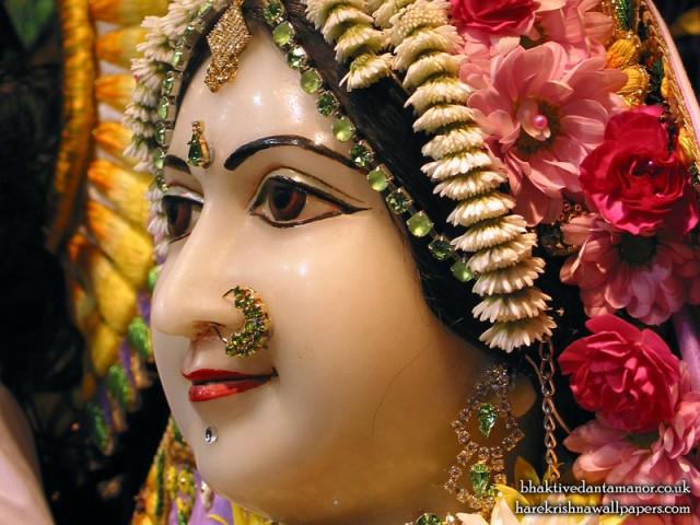 Sri Sita Close up Wallpaper (002)