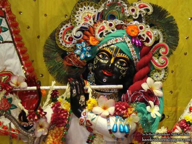 Sri Govind Close up Wallpaper (003)