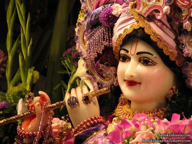 Sri Dwarkadhish Close up Wallpaper (006)