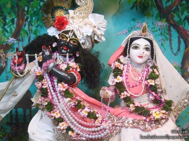 Sri Sri Radha Madhava Close up Wallpaper (006)