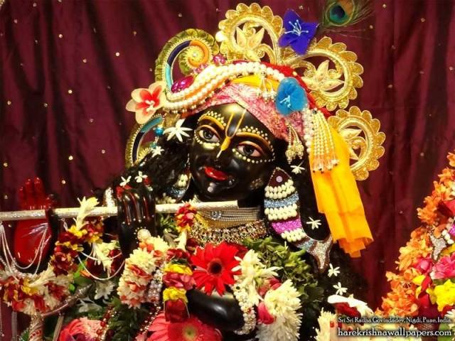Sri Govind Close up Wallpaper (011)