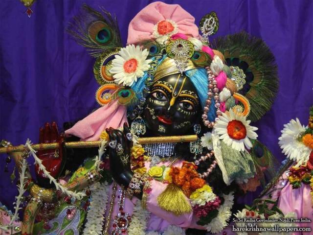 Sri Govind Close up Wallpaper (013)
