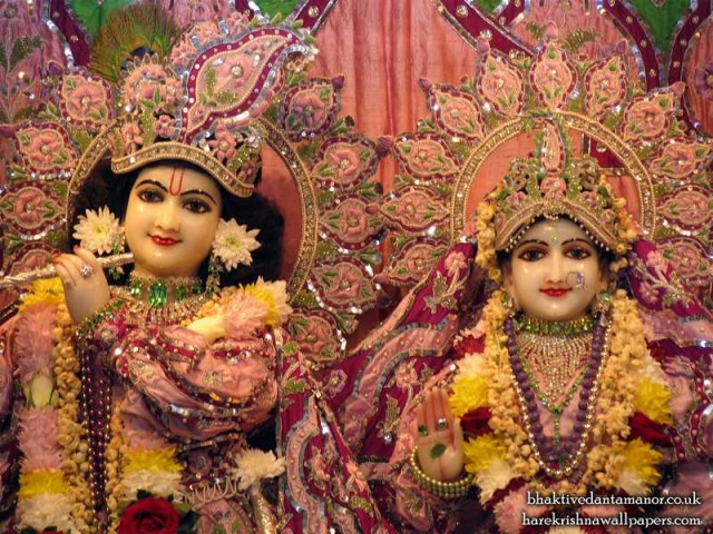 Sri Sri Radha Gokulanand Close up Wallpaper (018)