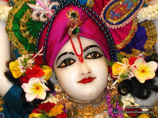 Sri Nitai Face Wallpaper (002)