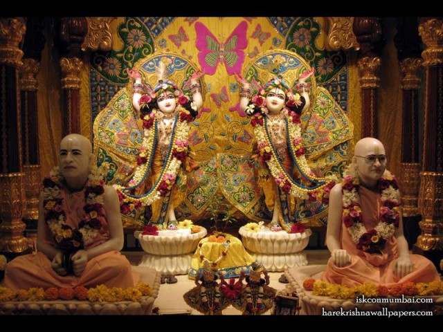 Sri Sri Gaura Nitai with Acharyas Wallpaper (006)