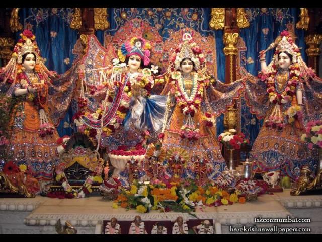 Sri Sri Radha Rasabihari Lalita Vishakha Wallpaper (007)