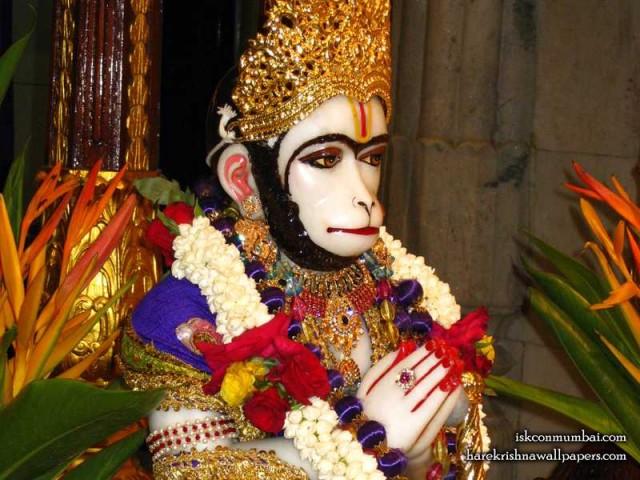 Sri Hanuman Face Wallpaper (001)