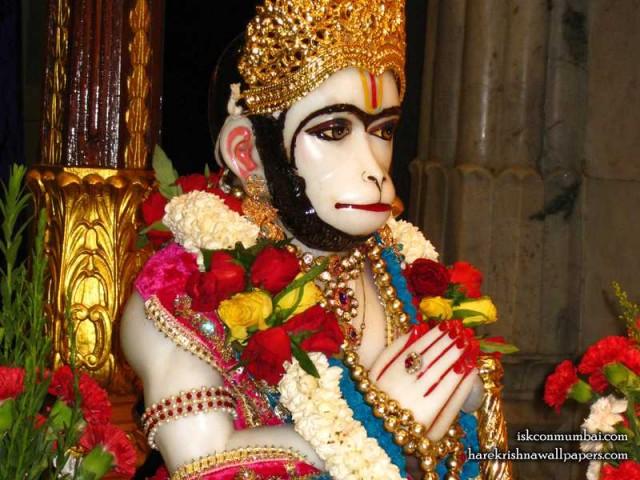 Sri Hanuman Face Wallpaper (003)