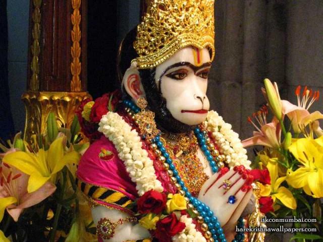 Sri Hanuman Face Wallpaper (010)