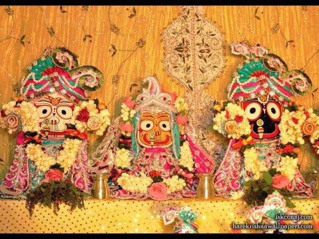 Jagannath Baladeva Subhadra Wallpaper (008)