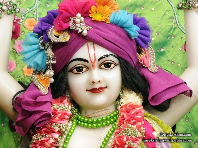 Sri Nitai Close up Wallpaper (015)