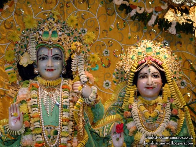 Sri Sri Sita Rama Close up Wallpaper (002)