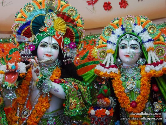 Sri Sri Radha Venimadhava Close up Wallpaper (003)