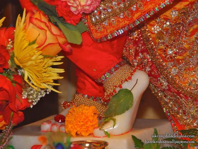 Sri Krishna Feet Wallpaper (003)