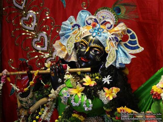 Sri Govind Close up Wallpaper (015)