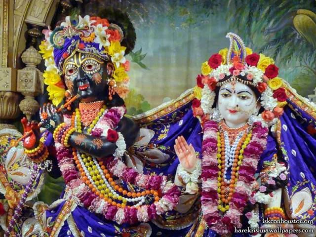 Sri Sri Radha Nilamadhava Close up Wallpaper (001)