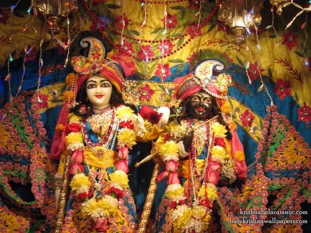 Sri Sri Hari Haladhari Close up Wallpaper (002)