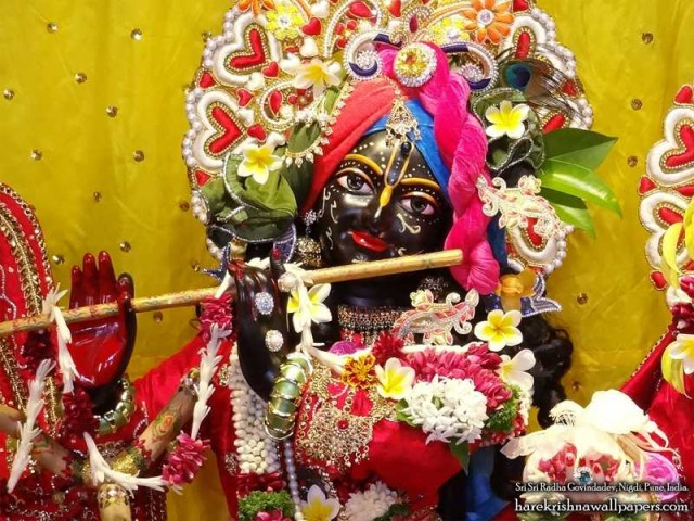 Sri Govind Close up Wallpaper (016)