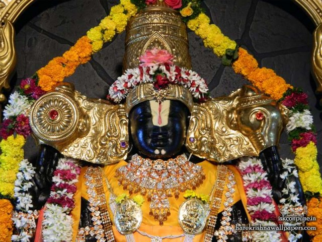Sri Balaji Close up Wallpaper (005)