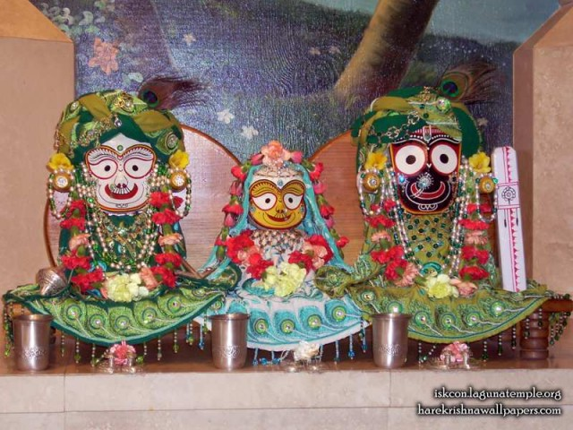 Jagannath Baladeva Subhadra Wallpaper (001)
