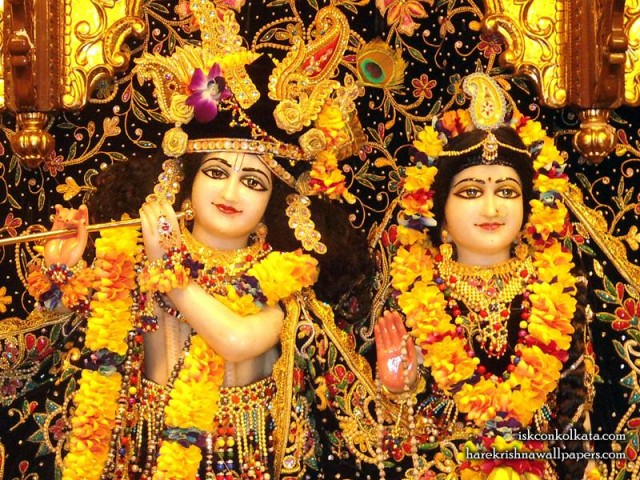 Sri Sri Radha Govinda Close up Wallpaper (001)