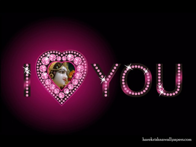 I Love You Radharani Wallpaper (011)