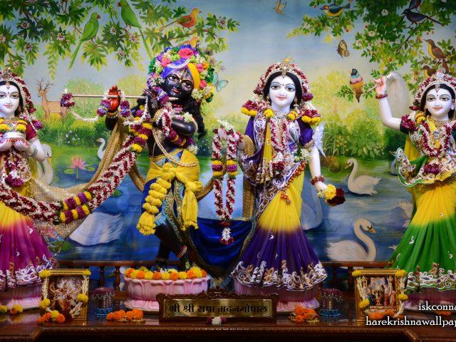 Sri Sri Radha Madan Gopal Lalita Vishakha Wallpaper (001) Size 2560×1600 Download